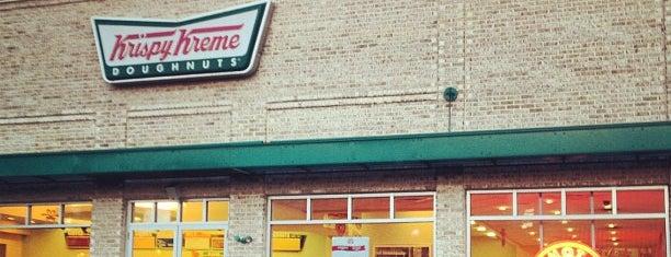 Krispy Kreme Doughnuts is one of Favorite places to get food!.