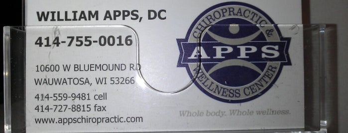 Apps chiropractic and evolution is one of not feeling to well.