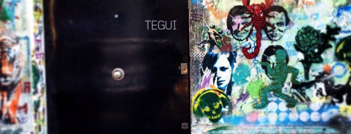 Tegui is one of Bue: Geral.