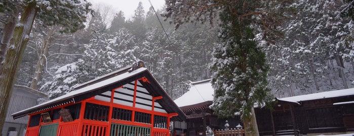鎮神社 is one of 201405_中山道.