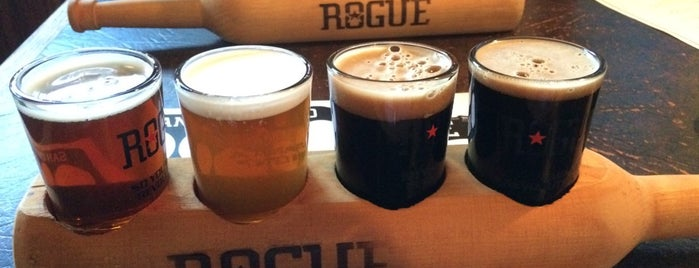 Rogue Ales Public House is one of The San Franciscans: Happy Hour.