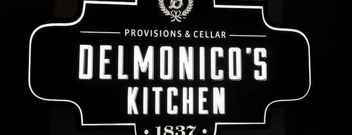 Delmonico's Kitchen is one of New York.