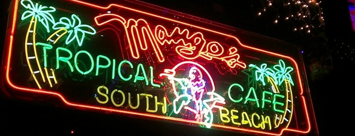 Mango's Tropical Cafe is one of The 15 Best Places for Tropical Drinks in Miami Beach.