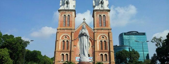 Saigon Notre-Dame Basilica is one of Ho Chi Minh City to-do.