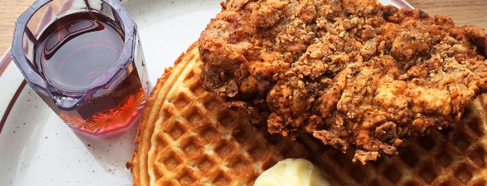 Fat's Chicken & Waffles is one of Seattle FTW.
