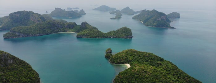 Angthong Islands National Marine Park is one of koh samui.