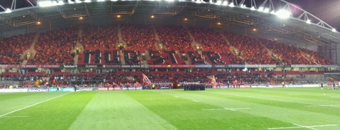 Thomond Park is one of UK & Ireland Pro Rugby Grounds.
