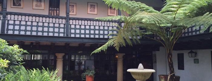 La Sociedad Restaurante is one of La Candelaria.