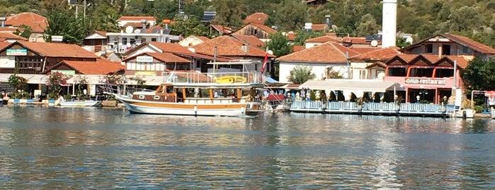 Üçağız is one of Kamp.
