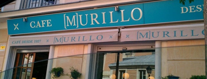Murillo Café is one of Barras Madrid.
