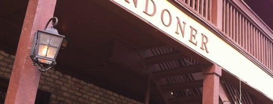 The Londoner is one of 2013 Iron Fork Restaurants.