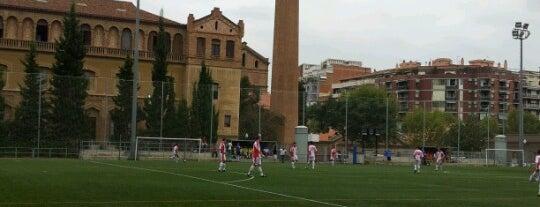 Instal·lacions Esportives Escola Industrial: Camp de Futbol is one of Barcelona.