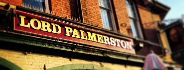 Lord Palmerston is one of London Pubs - Ambrosia.