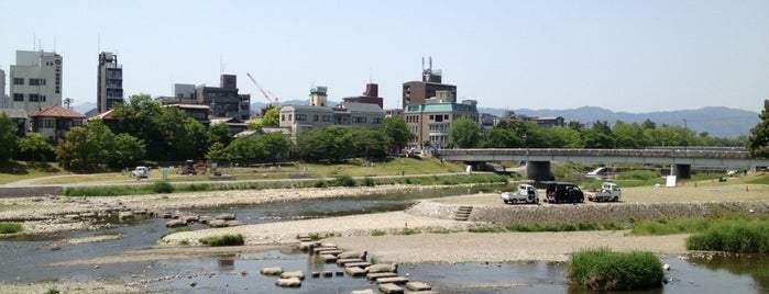 Kamo River Delta is one of お気に入り.