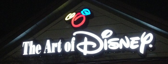 The Art of Disney is one of local.