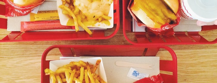Burger and Fries is one of Paris.
