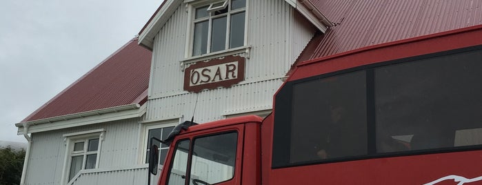 HI Iceland Ósar hostel is one of HI Iceland - Hostels around Iceland.