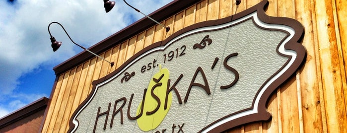 Hruška's is one of Texas.