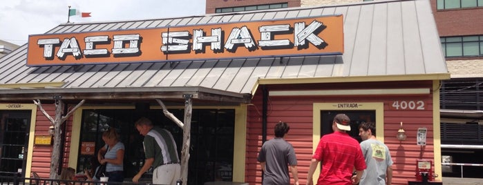 Taco Shack is one of AUS Faves and To Do.