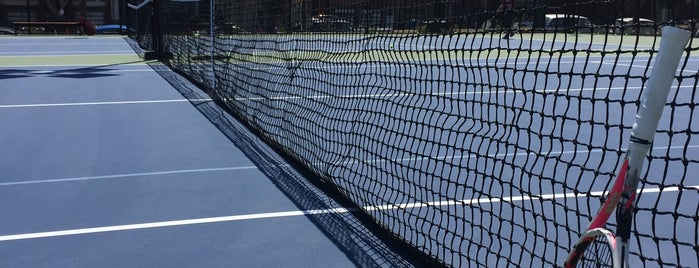 Dolores Park Tennis Courts is one of my san francisco..