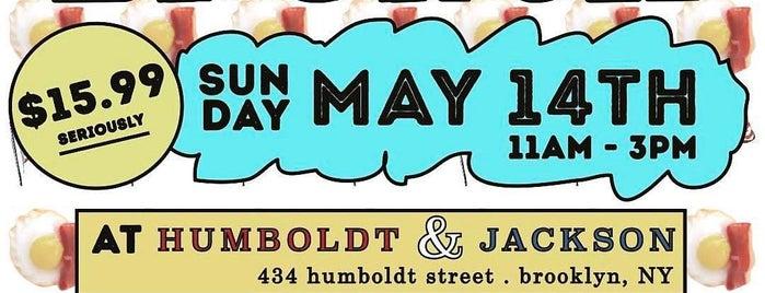 Humboldt & Jackson is one of GEMS.