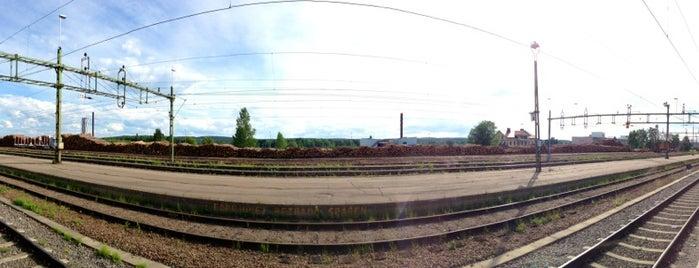 Ljusdal Station is one of Tågstationer - Sverige.
