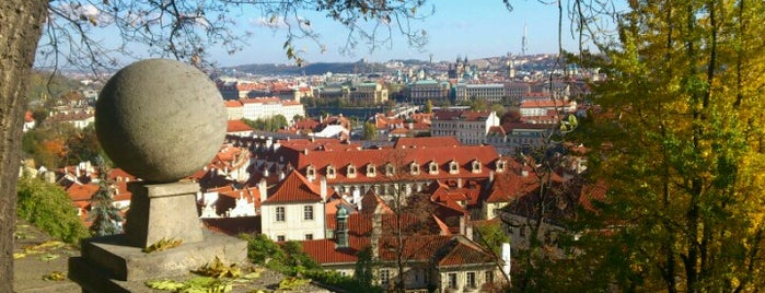 Zahrada Na Valech | Garden on the Ramparts is one of Gardens, Parks and Forests in Prague.