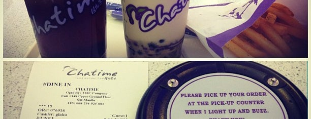 Chatime is one of Coffee & Tea.