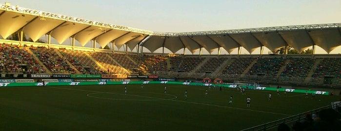 Estadio Bicentenario de La Florida is one of Conciertos.