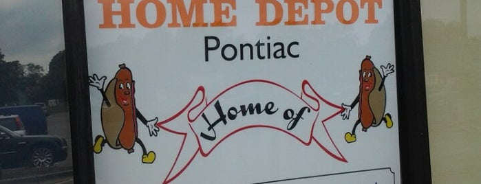 The Home Depot is one of Dan's Places.