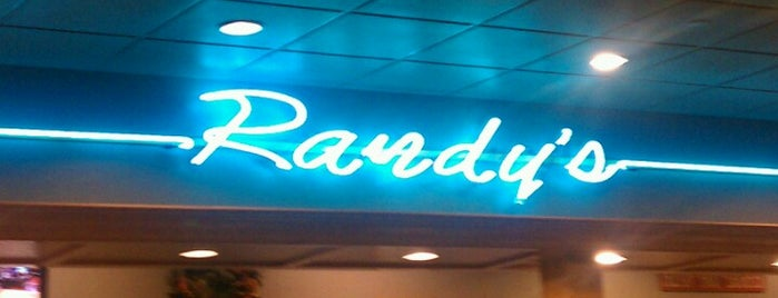 Randy's Restaurant & Ice Cream is one of the rose.