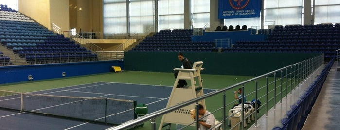 Daulet National Tennis Centre is one of Fitness centers in Astana.
