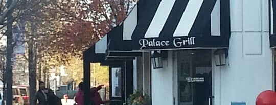 Palace Grill is one of My new hood.