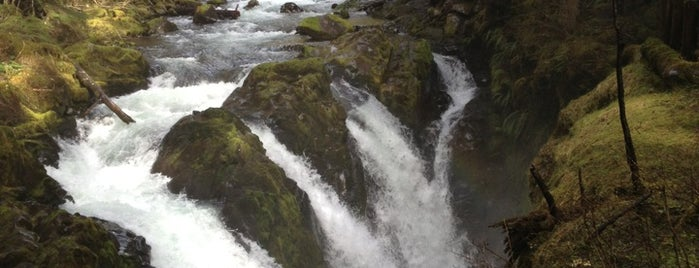 Sol Duc Falls is one of Seattle To-Do.