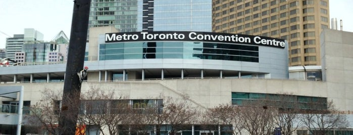 Metro Toronto Convention Centre - South Building is one of 토론토.