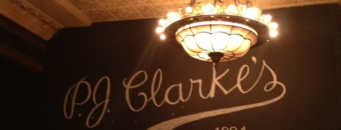 P.J. Clarke's is one of Hamburguerias.