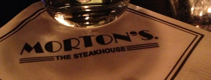 Morton's The Steakhouse is one of Favorite Food.