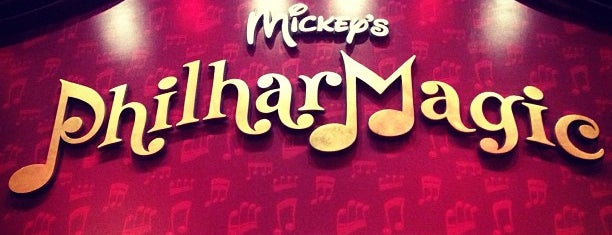 Mickey's PhilharMagic is one of Disney.