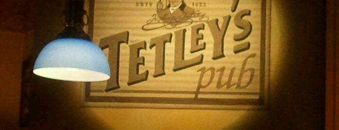 Tetley's Pub is one of Bassano.