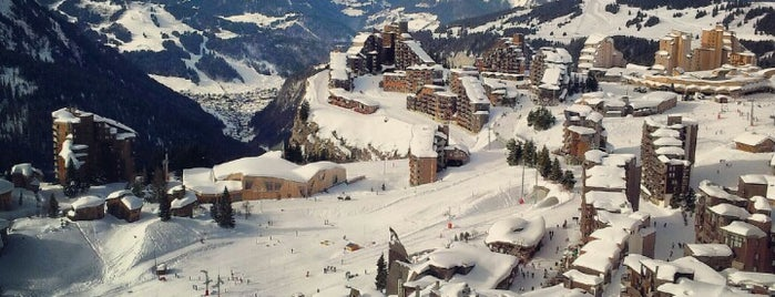Avoriaz is one of France.