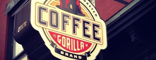 Gorilla Coffee is one of NYC Alternatives to $tarbuxxx.