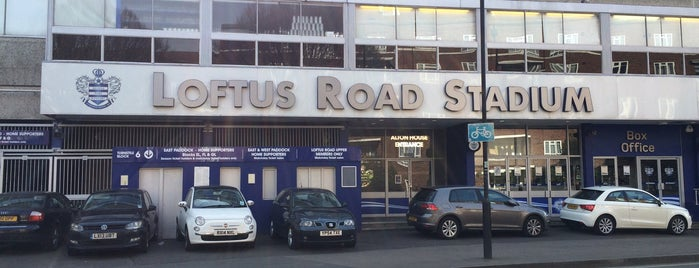 Loftus Road Stadium is one of Sky Bet Championship Stadiums 2015/16.