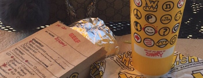 Which Wich is one of What's For Lunch?!.