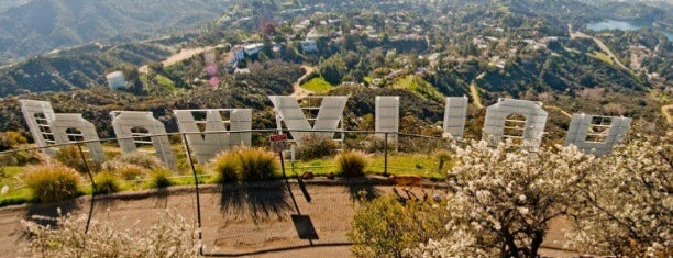 Hollywood Sign is one of Dan's Places.