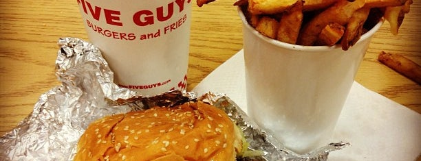 Five Guys is one of Loose.