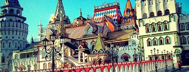 Измайловский кремль is one of Москва и загородные поездки.