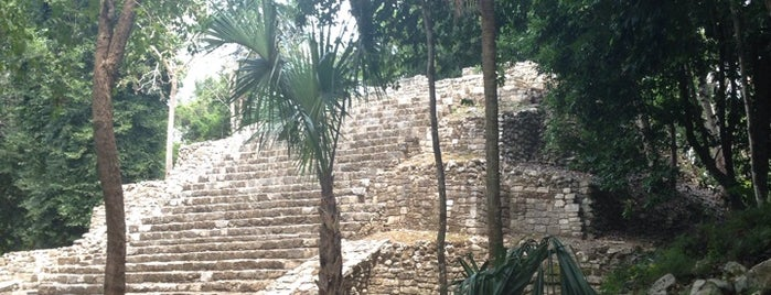 Oxtankah is one of Mexico // Cancun.