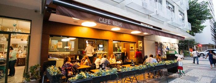 Café Hum is one of Leblon: rua das pedras ou quadrado.