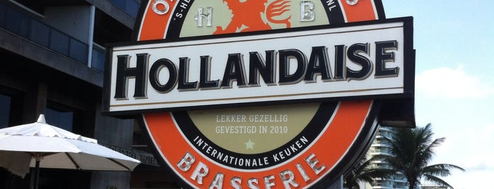 Hollandaise Brasserie is one of RJ para comer.