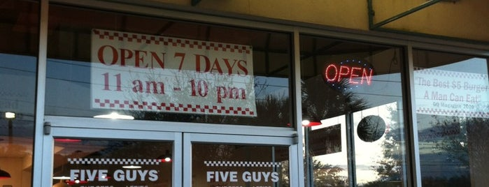 Five Guys is one of Atlanta Miami.